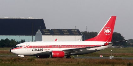 Cimber-Sterling Boeing 737 Foto: Jeff Duckett